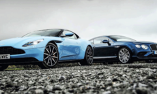 Duell: Aston Martin DB11 mot Bentley Continental GT Speed