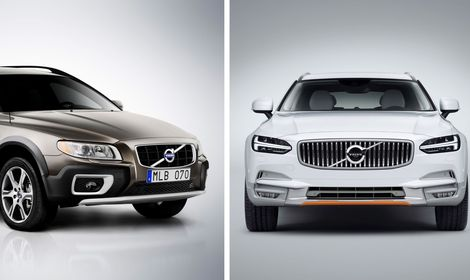 Begtest: Volvo XC70 mot Volvo V90 Cross Country
