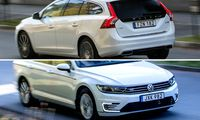 Begagnatduell: VW Passat GTE vs Volvo V60 Twin Engine – smarta drivlinor