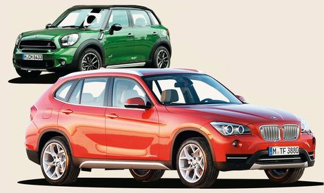 Begduell: BMW X1 mot Mini Countryman
