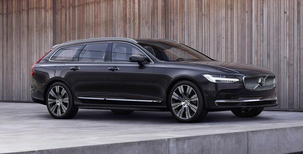 Officiell: Uppdaterade Volvo V90