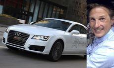 Audi A7 h-tron quattro – vätgasbil som bara släpper ut vatten