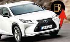 Bränslebluff på hög nivå: Lexus drar 62 procent mer!