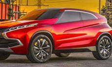 Mitsubishi XR-PHEV kan bli ny tjänstebilsfavorit