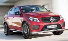 Nya Mercedes GLE Coupé siktar in sig på X6 och Q6