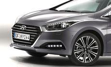 Hyundai i40 får ett lyft med ny front och bättre motorer