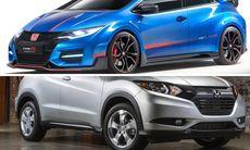 Honda storsatsar med nya modeller för att minska försäljningstappet