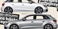 BEG: Audi A1 mot Audi A3 – bästa lilla Audin