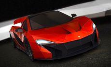Bygg din egen McLaren P1 – som pappersmodell