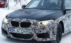 Spion: BMW testar nya M2 på svensk väg
