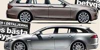 BEG: BMW 5-serie mot Jaguar XF