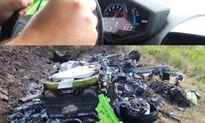 Lamborghini Huracan kraschar i 333 km/h – blir totalskrot
