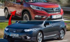 Honda Accord hänger löst – mellanklassen hotas av suvar