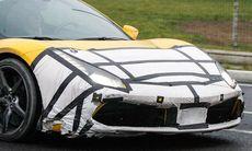 Spion: Ferrari 458 sluttestas med turbomotor