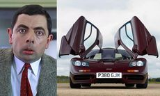 Mr Bean säljer sin McLaren F1 för 100 miljoner kronor