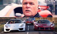 Först att äga alla tre – McLaren P1, Porsche 918 Spyder och Ferrari LaFerrari