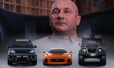 Bondskurkarna kör Jaguar och Land Rover i nya filmen Spectre