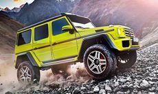 Tuffare kan G-Wagen inte bli – Mercedes G500 4x4