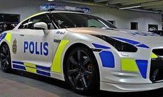 Nu kan du köpa en Nissan GT-R som polisbil