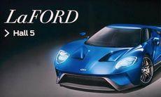 Ford retas med Ferrari på bilsalongen i Genève
