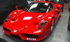 Myndigheter beslagtar dyrbar bilsamling från knarkkung