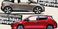 BEG: BMW i3 mot Nissan Leaf – Bästa elbilsvalet