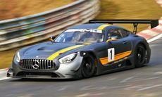 Mercedes AMG GT3 med 6,2-liters V8 sugmotor – vilket ljud