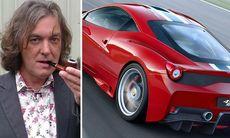 James May beställde ny Ferrari – då kom Clarksons gräl i vägen