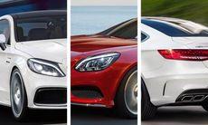 Mercedes offensiv i Frankfurt: C-klass Coupé, S-klass Cabriolet, SL och SLC