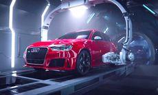 Märkligast hittills: Audi R8 krystar och föder fram RS 3 Sportback