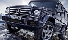 Mercedes uppdaterar G-klass – stridsvagnen rullar vidare