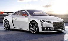 Audi TT clubsport turbo ger 600 hk – och är nära produktion