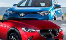 Oväntade beskedet: Toyota och Mazda ska samarbeta