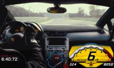 Lamborghini Aventador SV under 7 minuter på Ringen