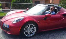 Första intrycket av Alfa Romeo 4C Spider: Rolig men svindyr