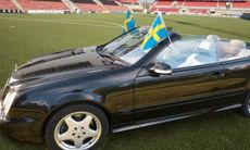 Nu kan du köpa Zlatans Mercedes