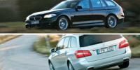 BEG: BMW 5-serie och Mercedes E-klass