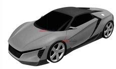 Hondas patentritningar läcker ut – ny mittmotorbil
