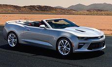 Chevrolet Camaro Cabriolet avslöjad i förtid