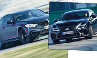 PROV: BMW M4 mot Lexus RC F  – sista sugmotorn?