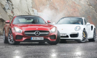TEST: Mercedes-AMG GT S mot Porsche 911 Turbo S