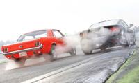 PROV: Mustang T5 1965 mot Mustang GT 2015