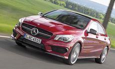 Mercedes uppdaterar CLA och GLA 45 4Matic – 21 hk extra