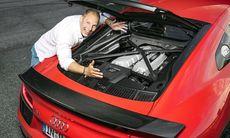 """Prov: """"Nya Audi R8 är en hyllningskonsert till sugmotorn"""""""