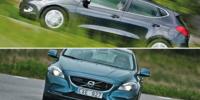 BEG: Volvo V40 mot Kia Ceed