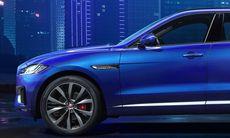 Jaguar F-Pace – första bilden på nya suvmodellen