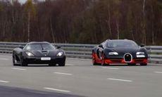 Toppfartstest: Bugatti Veyron mot Koenigsegg Agera R