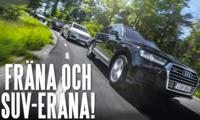 TEST: Audi Q7, Volvo XC90, BMW X5 och Porsche Cayenne