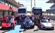 Jeremy Clarkson gör comeback med alla tre: LaFerrari, McLaren och Porsche