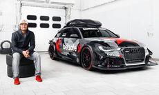 Jon Olssons Audi RS6 DTM stulen vid väpnat rån – utbränd